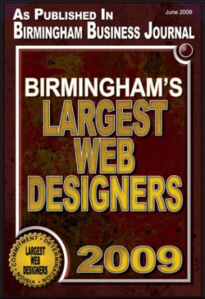 BBJ Largest Web Designers award 2009