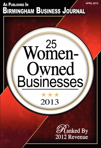 BBJ 2013 Top 25 Women Owned Businesses
