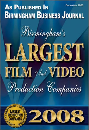 BBJ Largest Film and Video Production award 2008