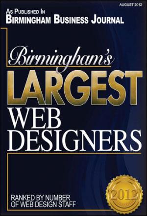 BBJ 2012 Largest Web Designers Award