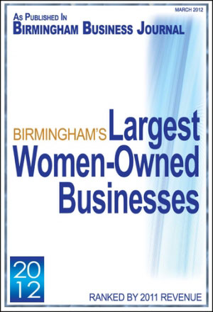 BBJ 2012 Largest Women Owned Businesses