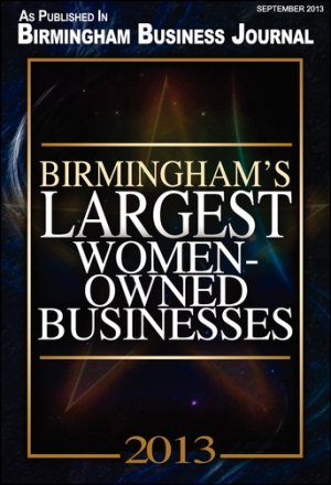 BBJ 2013 Largest Women Owned Businesses