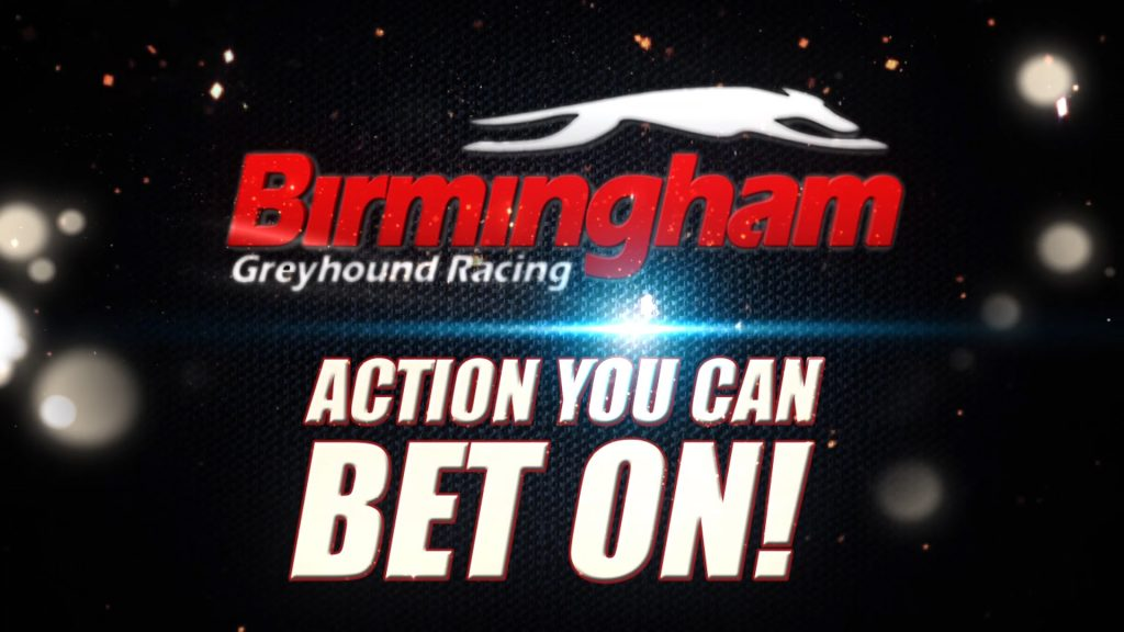 Still from the Birmingham Racetrack advertising campaign featuring the text 'You Can Bet ON It'