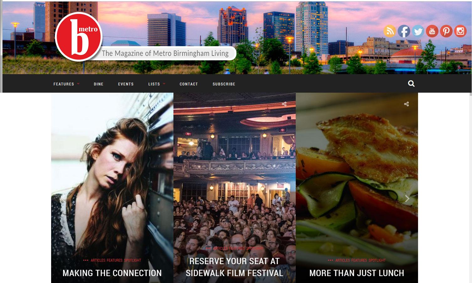 B-Metro Website
