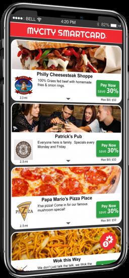 SmartCard app in a phone
