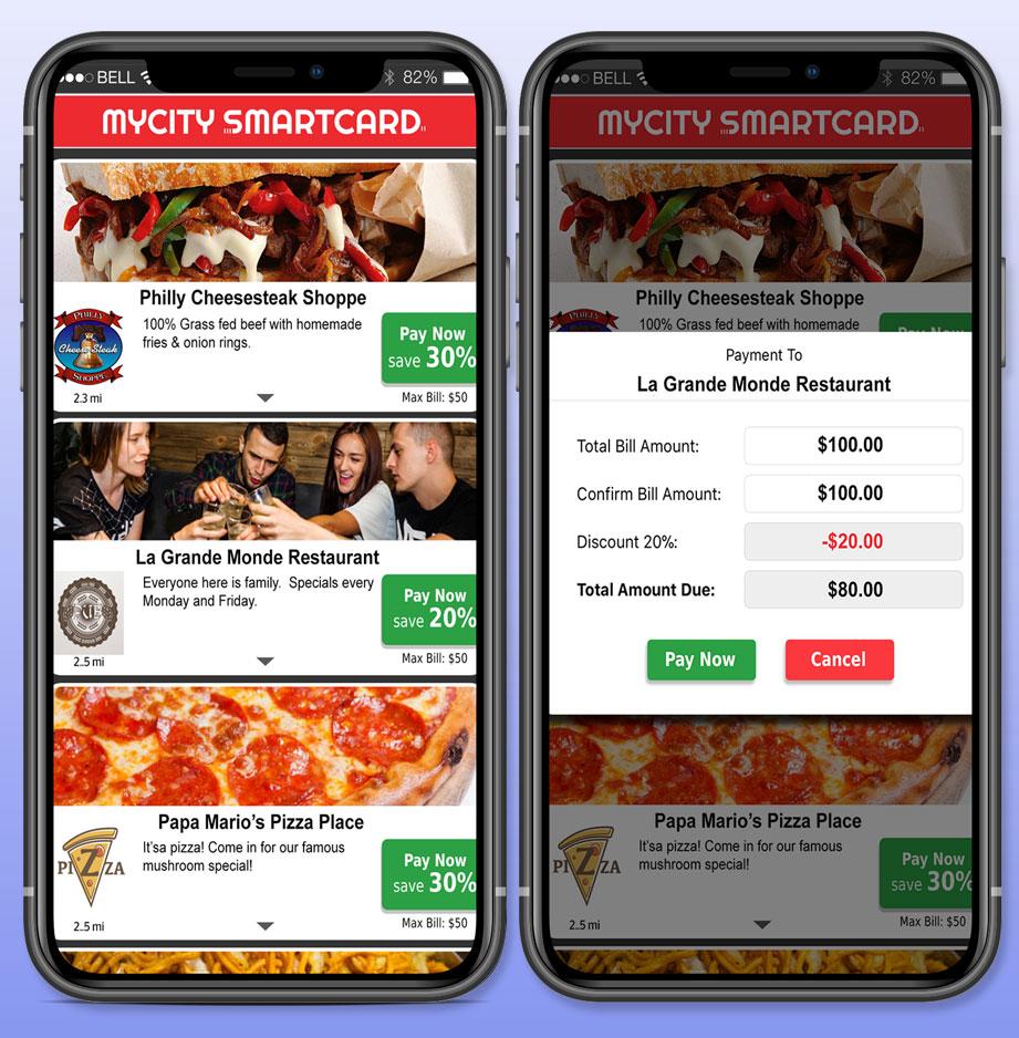 SmartCard app in phones
